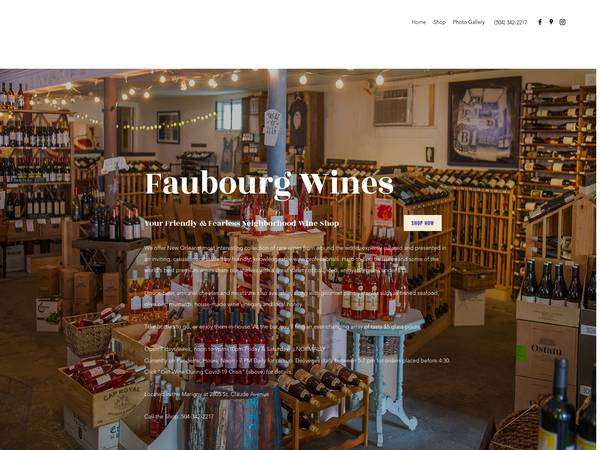 Faubourg Wines image