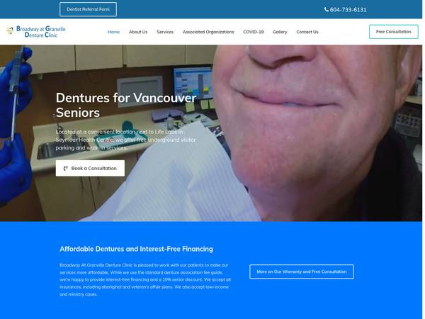 Broadway at Granville Denture Clinic image